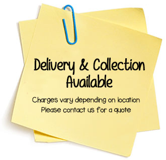 Delivery and Collection Available