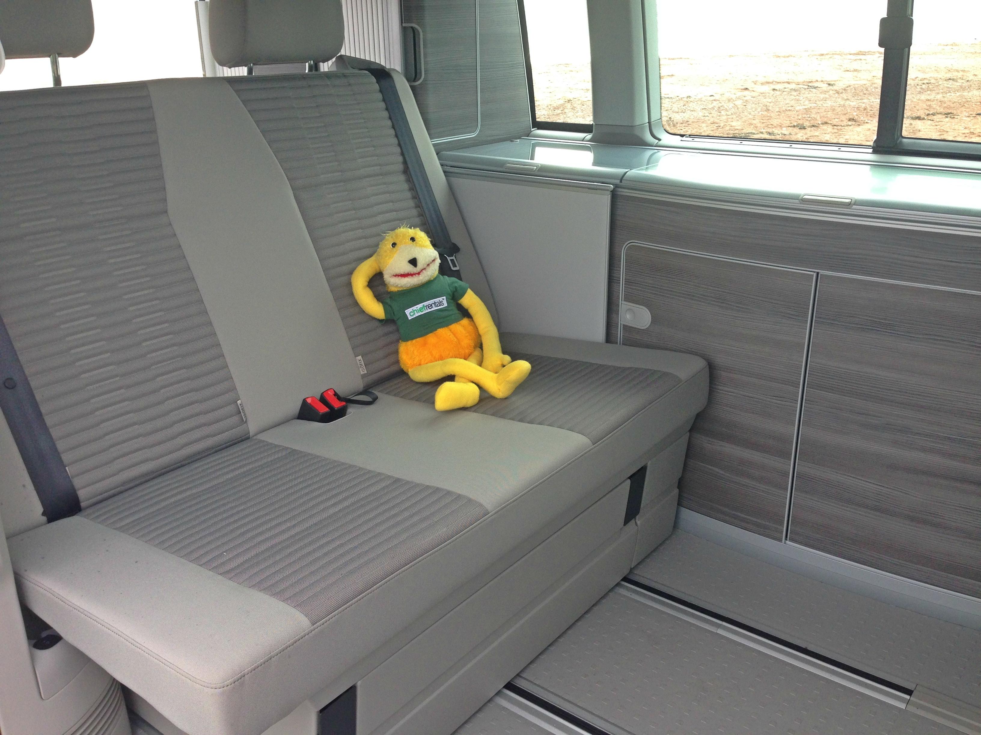 Inside VW California T6