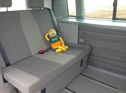 Inside VW California T6