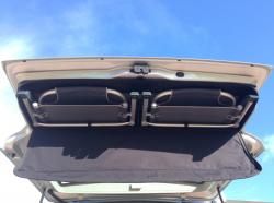 Picnic chairs in tailgate of VW California T6