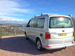 VW California T6 at Beverley Park Holidays
