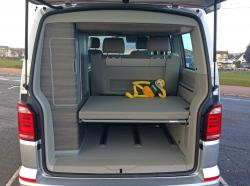 Tail garte up on VW California T6
