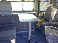 Eating in a VW California T6
