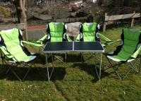Picnic table and chairs hire