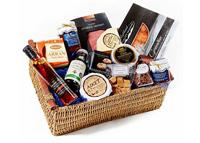 Welcome hamper with food