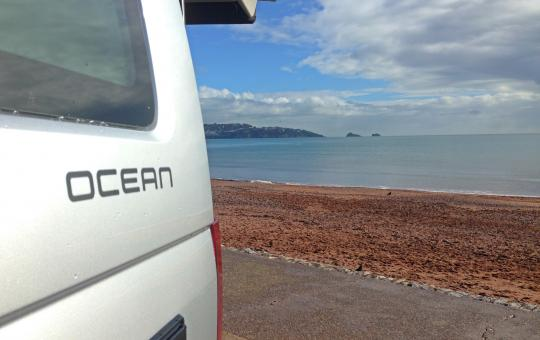 VW California T6 Ocean logo