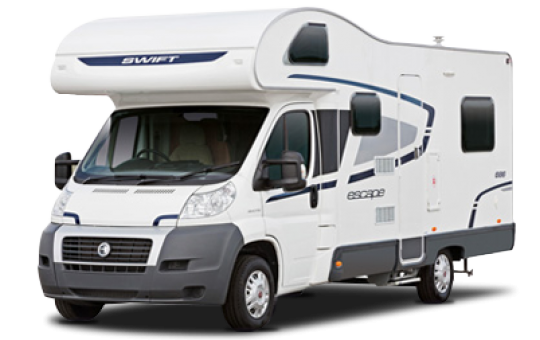 6 Berth Luxury Campervan Hire In Devon With Bunk Beds